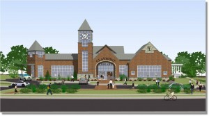 new Claymont Library