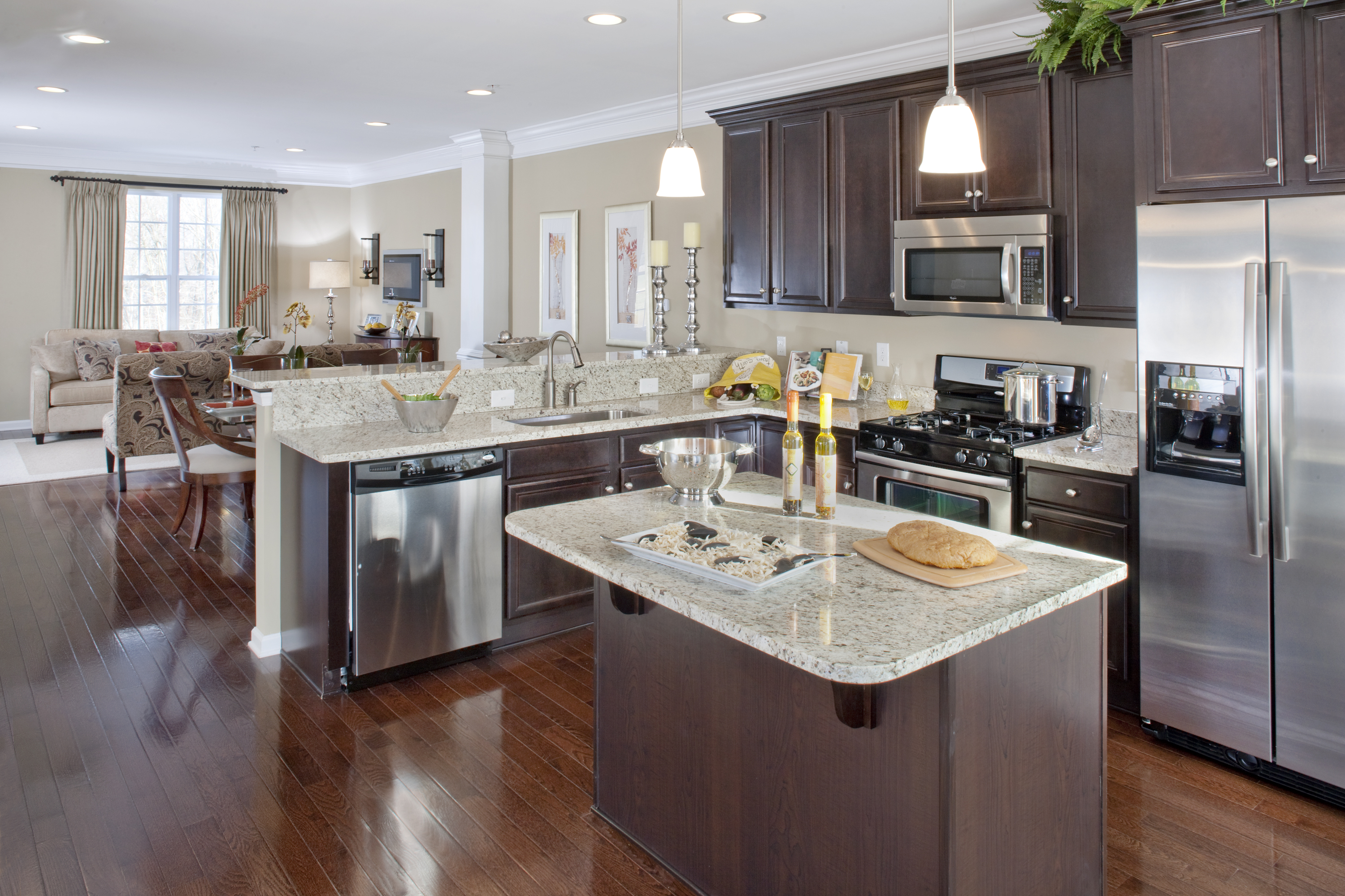 Townhomes in delaware darley green photo gallery for New model kitchen