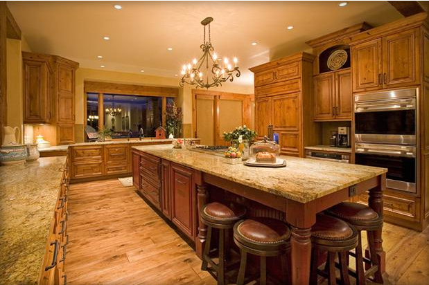 living room kitchen design