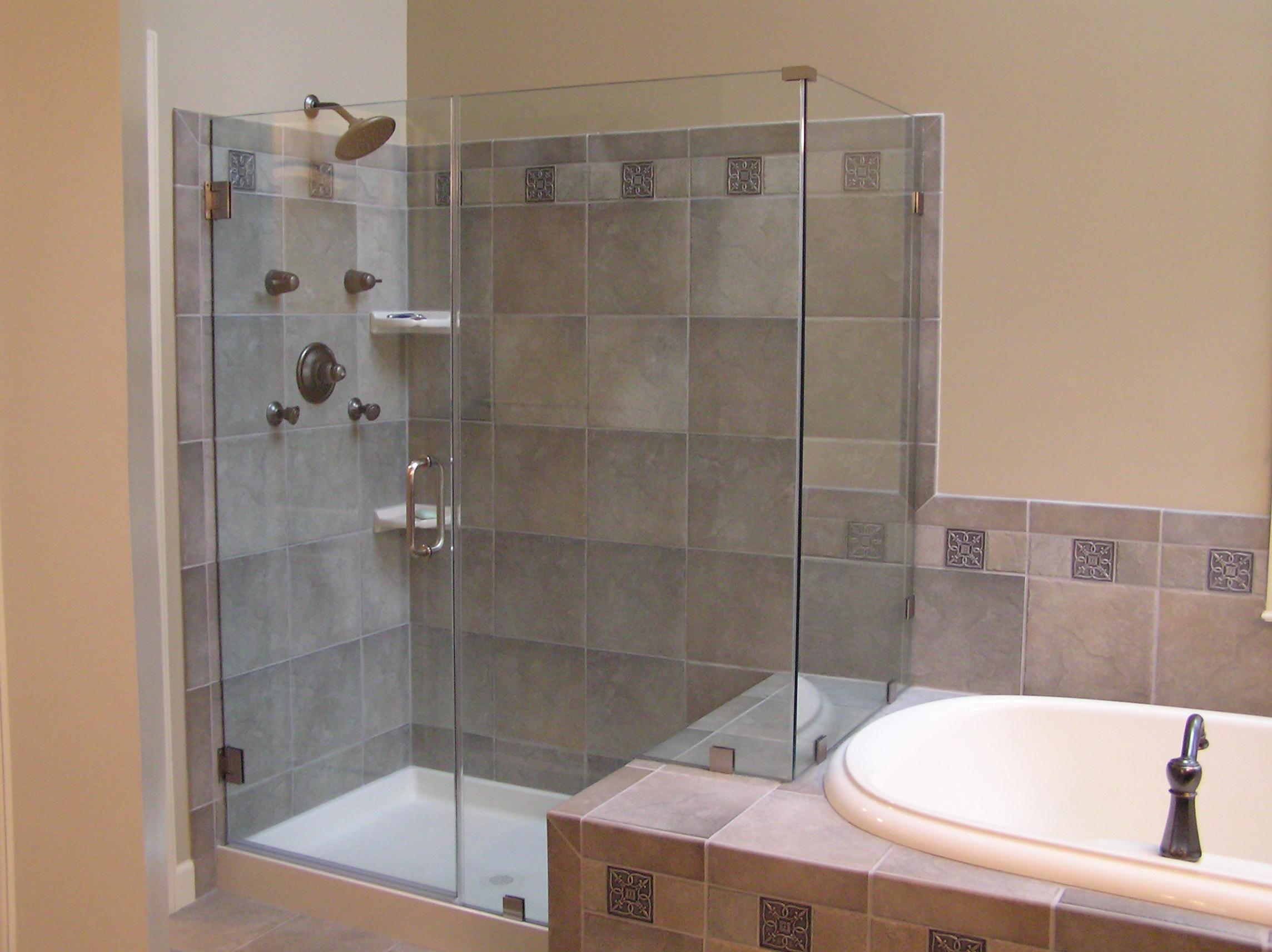 Shower Renovation bathroom remodel delaware - home improvement contractors