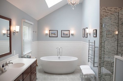 Bathroom Remodel No Tub bathroom remodel delaware - home improvement contractors