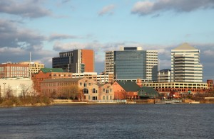Wilmington Riverfront view