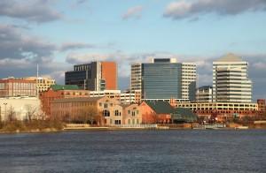 Wilmington Riverfront view