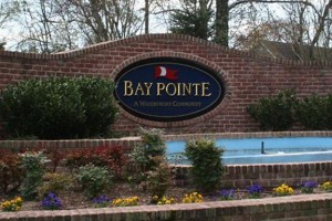 BayPointe front gate