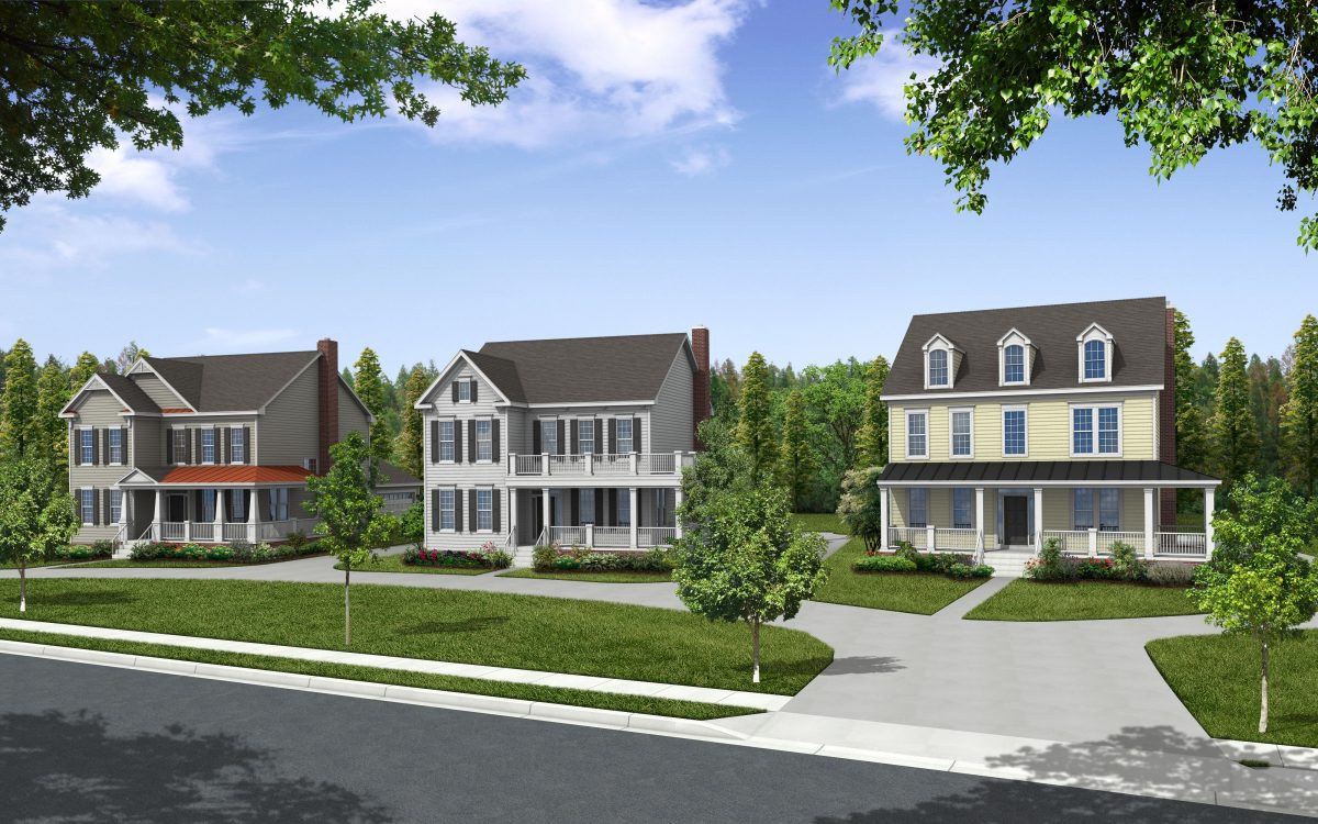 Luxury single family homes shipley road now offering a for Homes with master bedroom on first floor