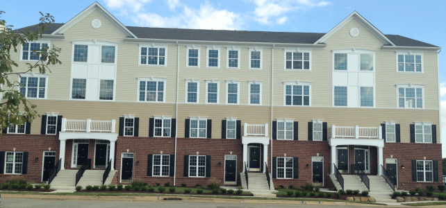 Darley Green townhome