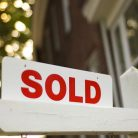 "Real Estate ""sold"" sign"
